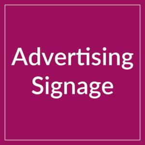 Advertising Signage